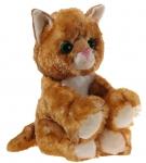 Glitter-Kitty Katzen-Baby gold Plüschtier - 20cm