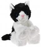 Glitter-Kitty Katzen-Baby schwarz/weiß Plüschtier - 20cm
