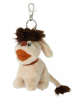 Hund Moppi Schlüsselanhänger 10cm