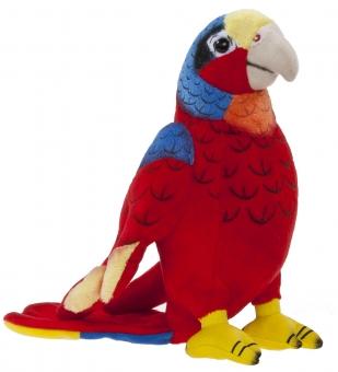 Papagei Plüschtier - 20cm