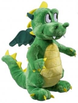 kleiner Drachen - grün - 20cm