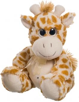 Giraffe Plüschtier - große Augen -  25cm