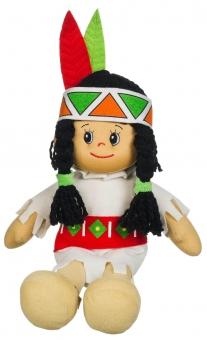 Poupetta Indianer Squaw - Puppe - 30cm