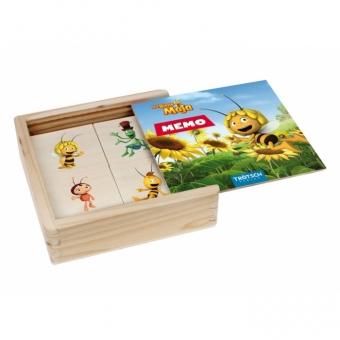"""""""Die Biene Maja"""" Memo aus Holz"""