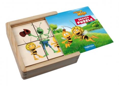 """Die Biene Maja"" Erstes Puzzle aus Holz"