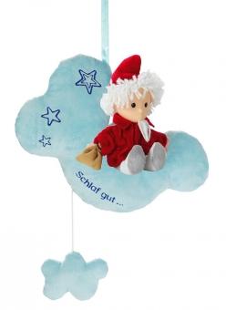 Spieluhr Sandmann auf Wolke 22cm