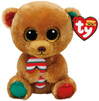 Bella - Weihnachtsbär - Beanie Boos - Plüschtier 15cm
