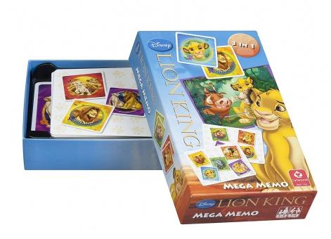 ASS Altenburger Spielkarten Mega Memo - Walt Disney - König der Löwen