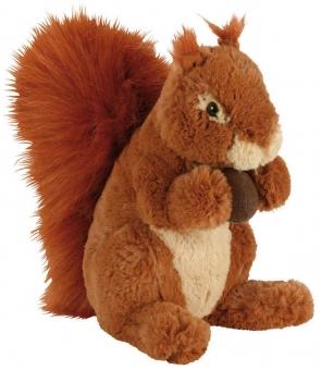 Eichhörnchen Plüschtier - hellbraun - 25cm