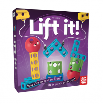 Lift it! - Bau dich um Kopf und Kran! - Game Factory