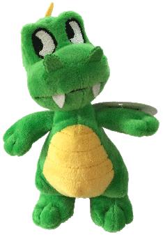 kleiner Drachen - grün - 15cm
