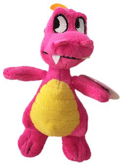kleiner Drachen - pink - 15cm