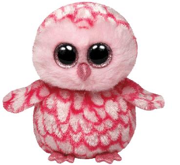 Pinky - Eule - Beanie Boos - Plüschtier 15cm