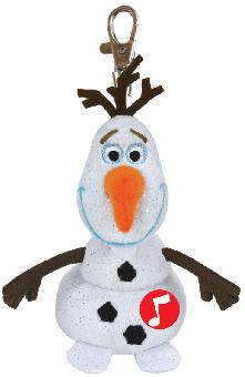 Disney Frozen Olaf Clip - Die Eiskönigin - Beanie Babies - Schlüsselanhänger 8,5cm