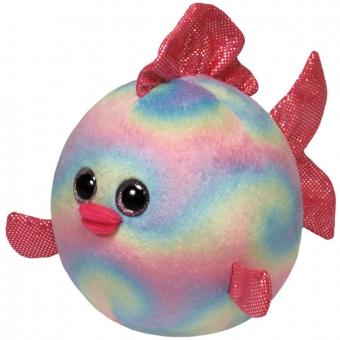 Rainbow - Fisch Ball Plüschtier - 12cm