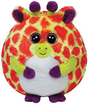 Toby - Giraffe Ball Plüschtier - 12cm