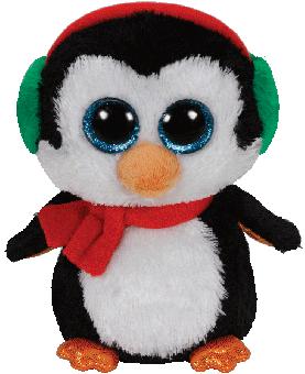 North - Weihnachtspinguin - Beanie Boos - Plüschtier 15cm