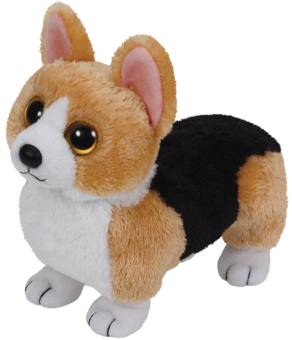 Otis - Corgi Hund - Beanie Babies - Plüschtier 15cm