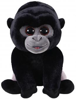 Bo - Silberrücken Gorilla Affe - Beanie Babies - Plüschtier 15cm