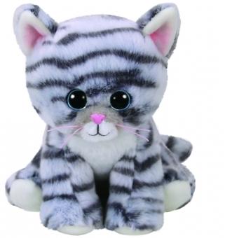 Millie - Katze grau - Beanie Babies - Plüschtier 15cm