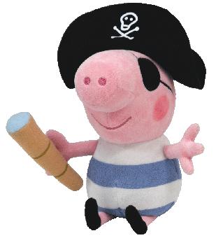 Pirate George - Plüschtier Peppa Pig - 15cm