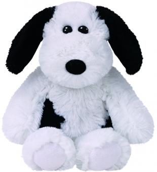 Muggy - Hund schwarz/weiß - Attic Treasures - Plüschtier 23cm